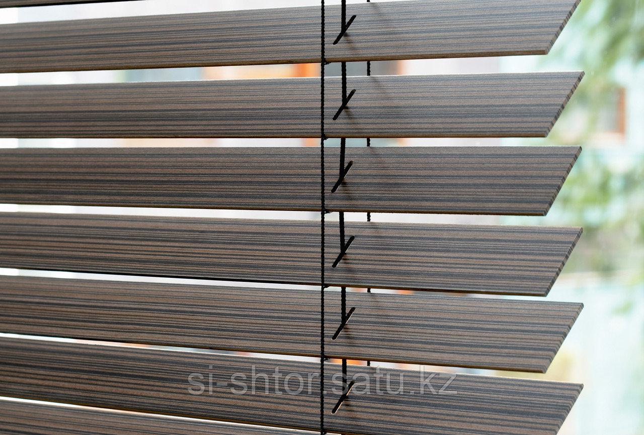 Жалюзи деревянные - фото 4