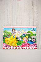 Детский альбом с 3D элементами 820-16-70AT Принцессы Дисней 16 листов