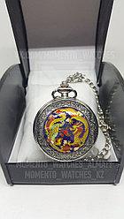 Карманные часы с изображением