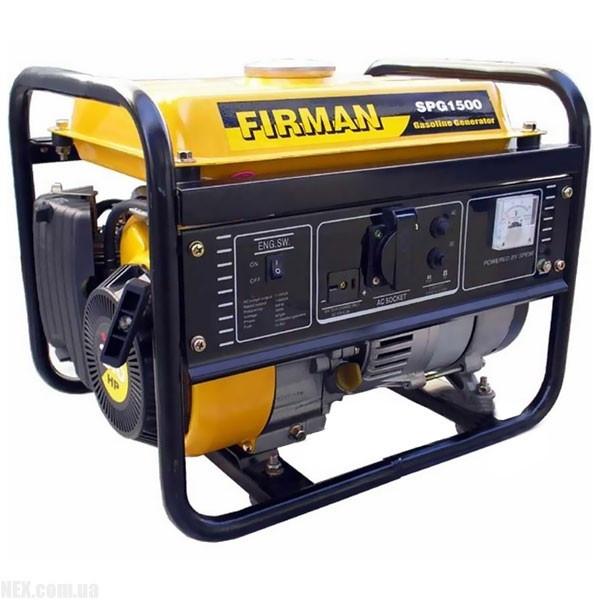 Бензиновый генератор SPG1500