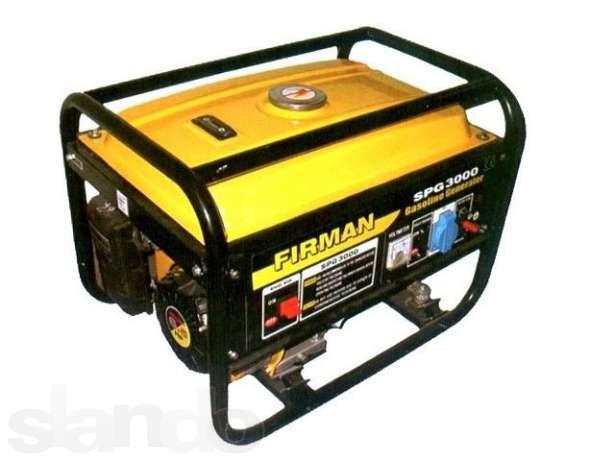 Бензиновый генератор SPG3000