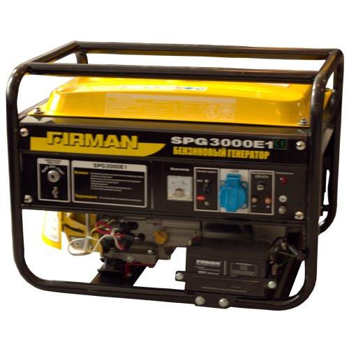 Бензиновый генератор SPG3000E1