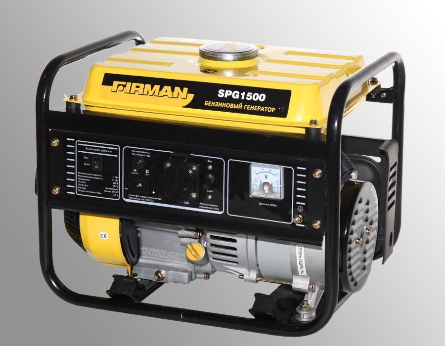 Бензиновый генератор SPG5000E1