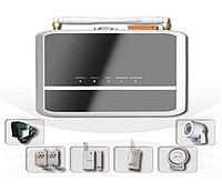 Комплект  безпроводной GSM сигнализации с камерой YL-007M8A