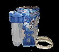AquaVista Фильтр одинарный с креплением и ключом
