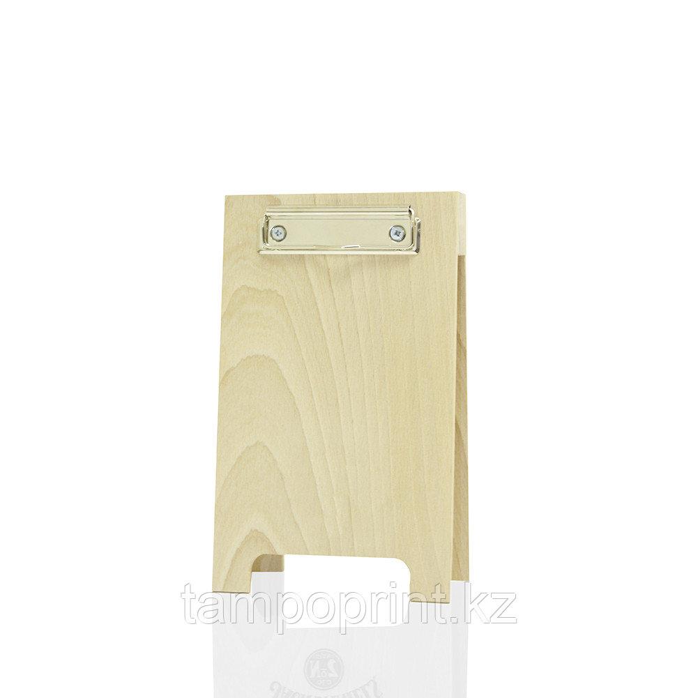 Менюхолдер деревянный DS037 береза