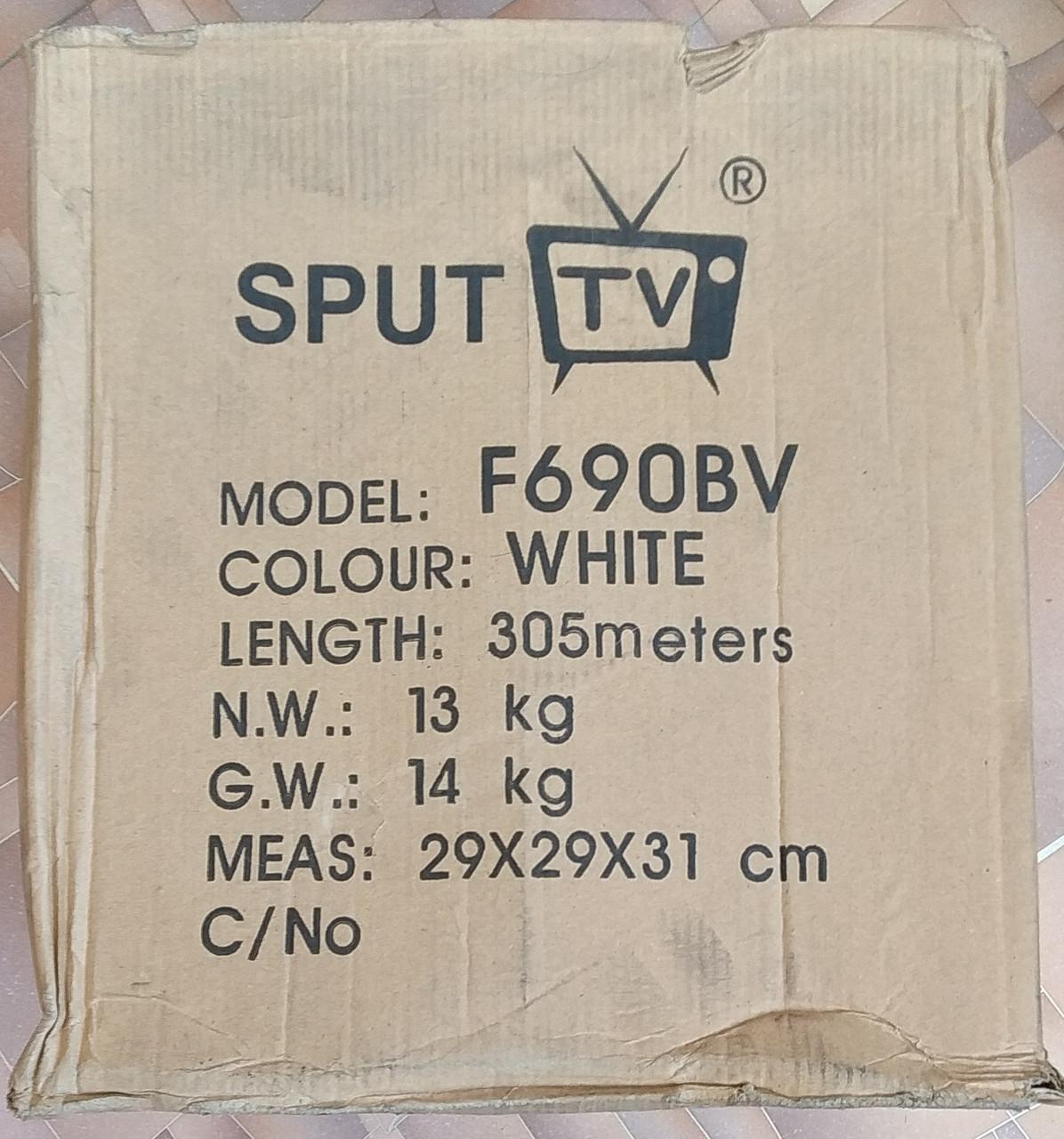 Коаксиальный кабель 90% RG-6   бухта 305м