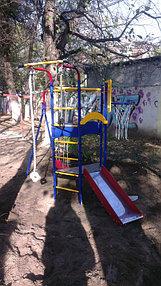 Детский спортивный комплекс Космодром 14 с горкой для самых маааленьких