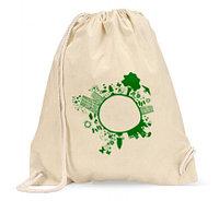 Холщовые рюкзаки из хлопка, фото 1