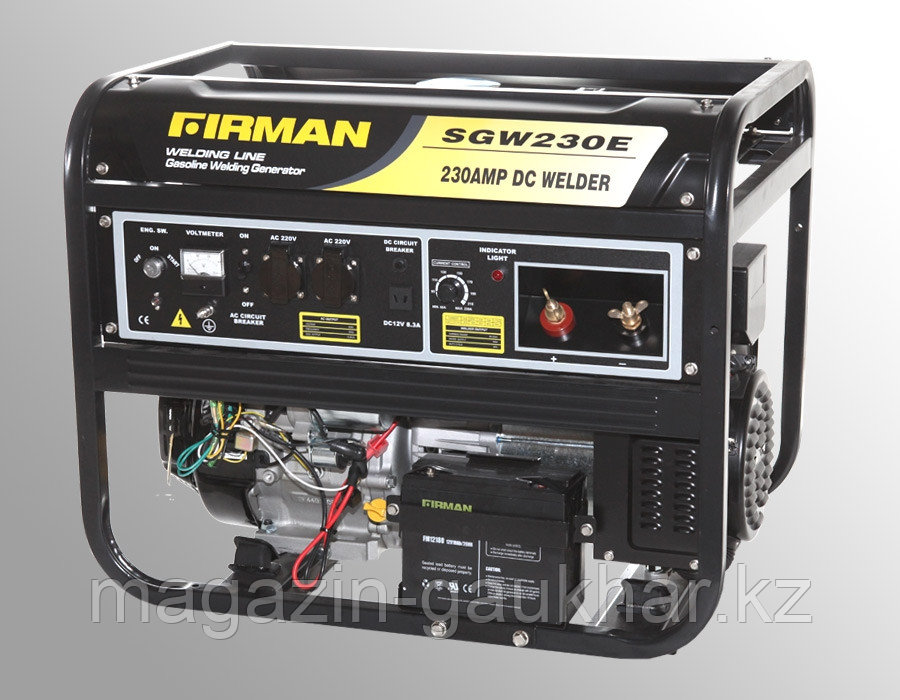 Бензиновый генератор сварочный  SGW230E