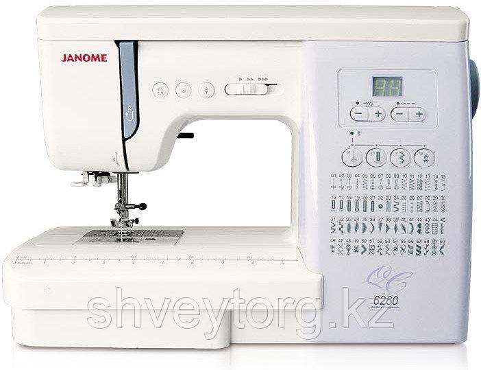 Компьютерная швейная машина Janome 6260 QC