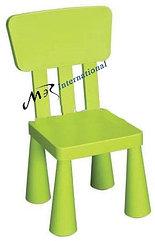 Детский стул дизайнерский IKEA зеленый