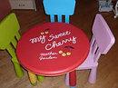 Детский стул дизайнерский IKEA зеленый, фото 4