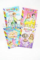 Набор двухсторонней цветной бумаги 10 листов для девочек A4-CSZ-20