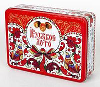 Русское лото в жестяной коробке «Узоры», фото 1