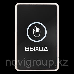 """Сенсорная накладная кнопка """"Выход"""" с контактами Н.Р. и Н.З. и подсветкой NOVIcam B60TL"""
