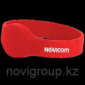 Идентификатор EM-Marin в виде браслета NOVIcam EB10 red