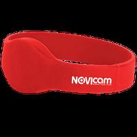 Идентификатор Mifare в виде браслета NOVIcam MB10 red