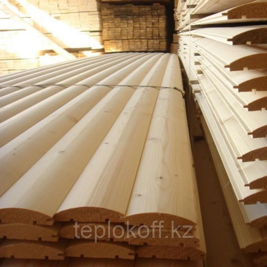 Блок-хаус 28х135 мм длина от 3 до 6 м