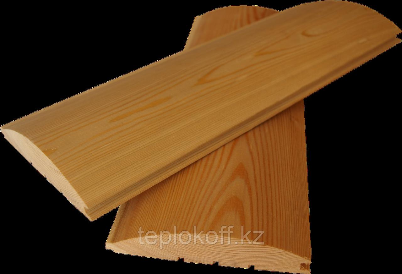 Блок-хаус 38х185 мм сорт АВ длина от 3 до 6 м