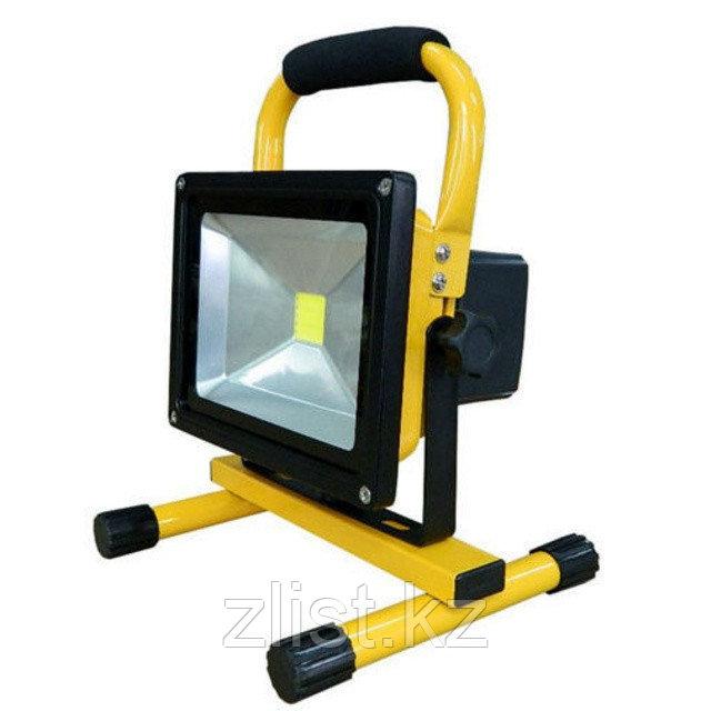 Прожектор с переносным с аккумулятором