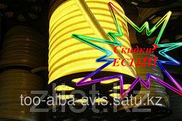 Неоновый желтый шнур