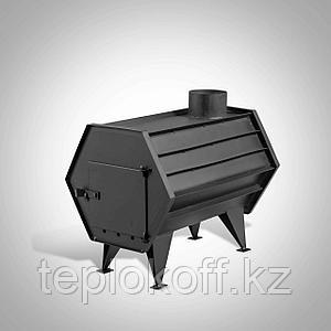 Печь отопительная ПО-1 Радуга (буржуйка) до 30 куб.м.
