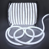 Белый гибкий неон, фото 2