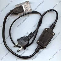 Сетевой шнур для LED дюралайта 4 жилы, фото 2