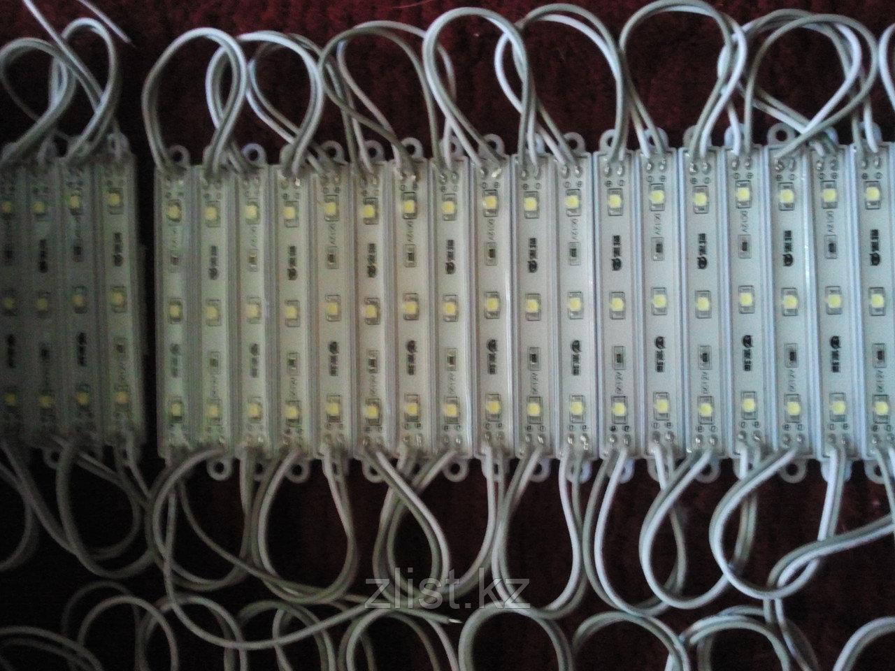 Модули светодиодные диоды, led модули, модули SMD 3528 в силиконе