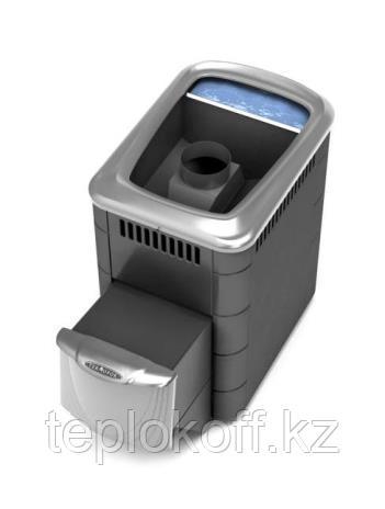 Печь для бани ТМФ Компакт 2013 Inox нерж.дверца бак антрацит