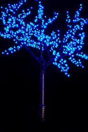 Cветодиодное дерево сакуры