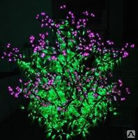Cветодиодное дерево Сирень
