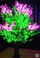Cветодиодное дерево Сирень, фото 2