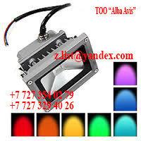 Прожектор светодиодный цветной, фото 4