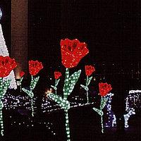 """Фигуры личные светящиеся светодиодные акриловые 3D  Цветок """"Тюльпан"""", фото 3"""