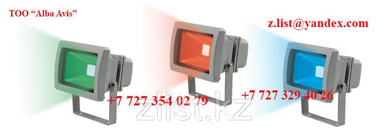 Цветные прожекторы для подсветки