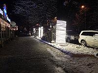 Подсветка деревьев, кустов. Обмотка, освещение деревьев светодиодной лентой, дюралайтом, фото 6