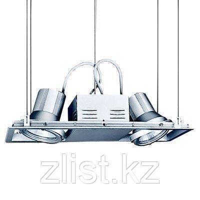 Светильник направленного освещения. На потолок с помощью стального провода, металогалогенновый