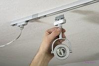 Трек для потолочного светильника 2х-линейный, 2 метра, фото 3