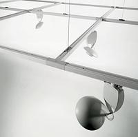 Линейный трек для светильника 2х-линейный, 1 метра, фото 2