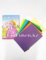 Набор цветной картон 8 листов CSZ-8-90 Принцесса Аврора
