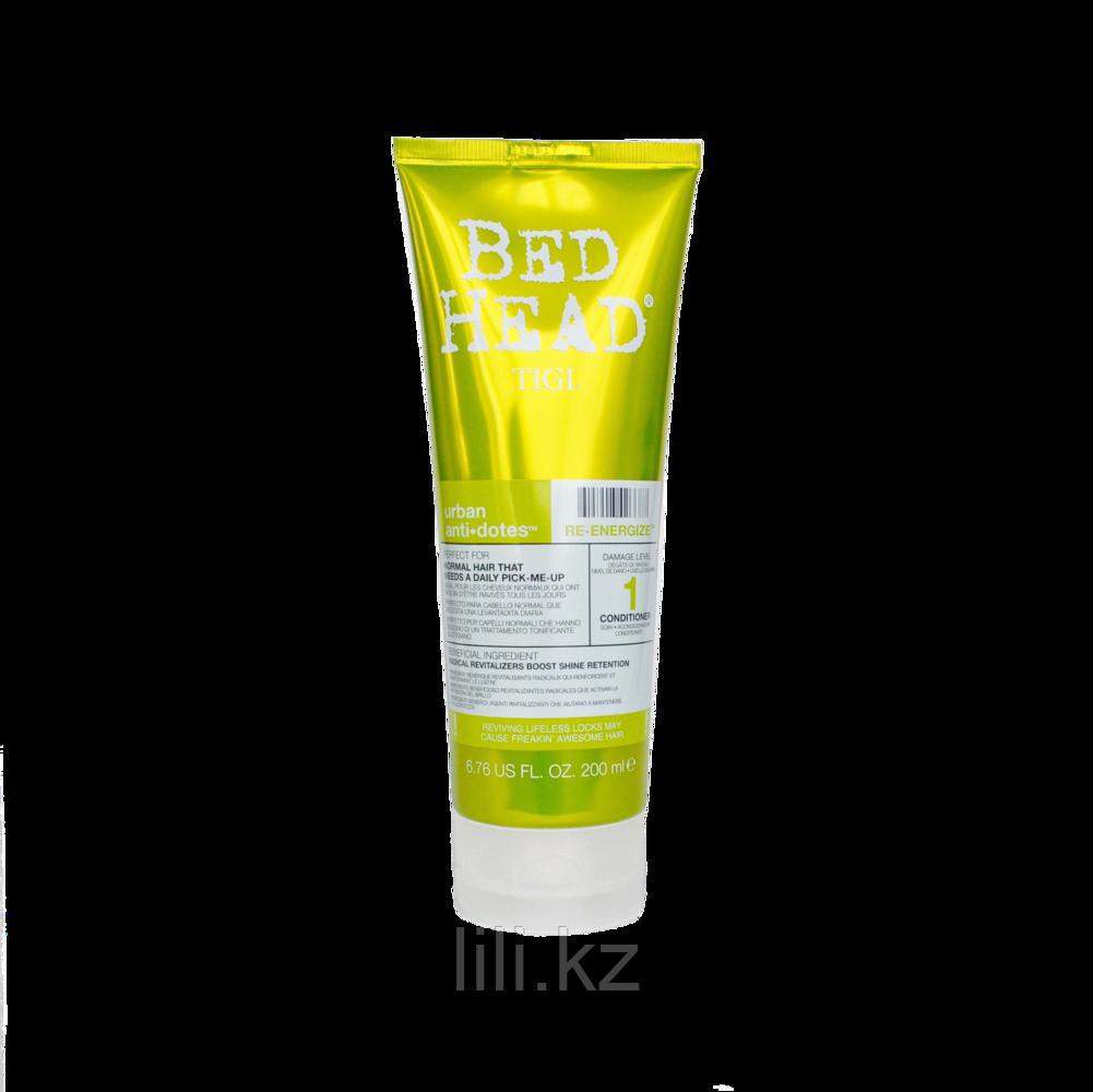 Кондиционер для нормальных волос, уровень 1 -  Bed Head Urban Anti+dotes Re-Energize 200 мл.
