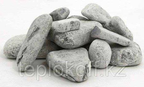 Камень для бани Порфирит окатанный 20 кг коробка