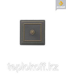 Дверца Везувий чугунная прочистная, (235), 170*170 мм, бронза