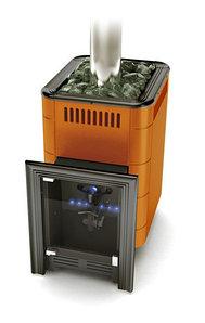 Печь для бани газовая ТМФ Уренгой-2 Inox терракота (без ГГУ)
