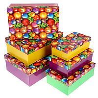 """Набор коробок 6 в 1 """"Новогодние шары"""""""