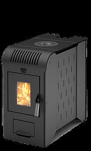 Печь отопительно-варочная Теплодар Метеор-150, дровяная, антрацит