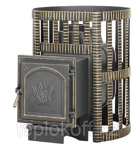 Печь для бани Везувий Легенда Ковка 16 (271) дровяная