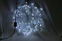 Светодиодная фигура Снежинки в алматы 30х30